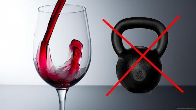 Ученые выяснили, что бокал красного вина приравнивается к 1 часу занятий спортом