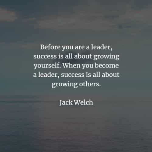 Leadership quotes and sayings to let out the best in you