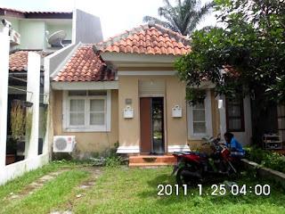 Rp.600 Jt Dijual Cepat Rumah Siap Huni Di Tampak Siring Sentul City (Code:208)
