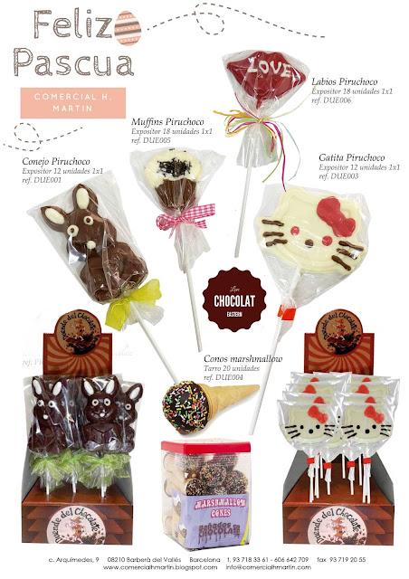 Pascua Chocolate - Comercial H. Martín