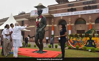Khel Ratna Award renamed as Major Dhyan Chand Award