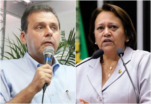 Resultado de imagem para FATIMA BEZERRA E CARLOS EDUARDO