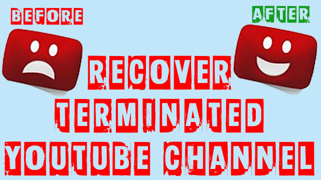 youtube account terminated for no reason