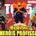 TOP 5 HERÓIS PROFISSIONAIS MAIS FORTES! Boku no Hero Academia