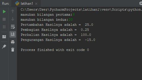 Aplikasi Sederhana Kalkulator Python