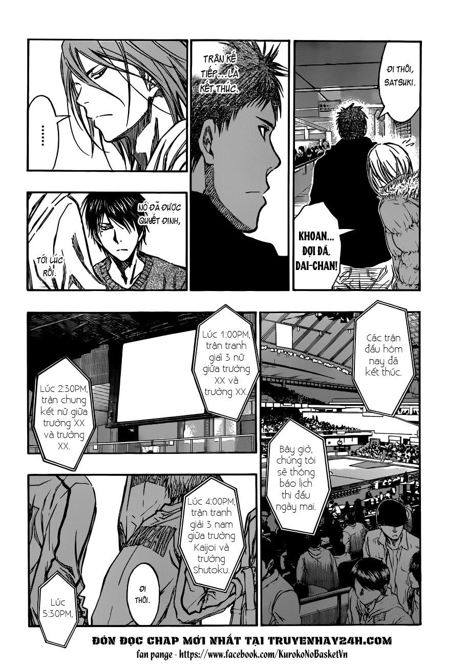 Kuroko No Basket chap 203 trang 11