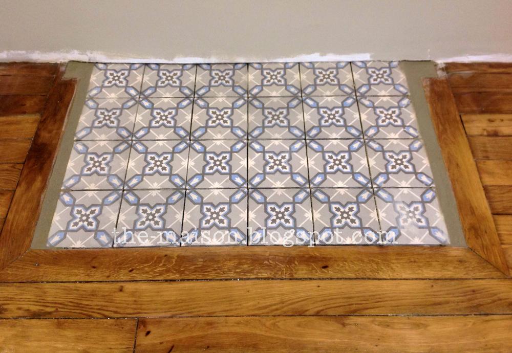 the maison r novation des carreaux de ciment mieux que. Black Bedroom Furniture Sets. Home Design Ideas