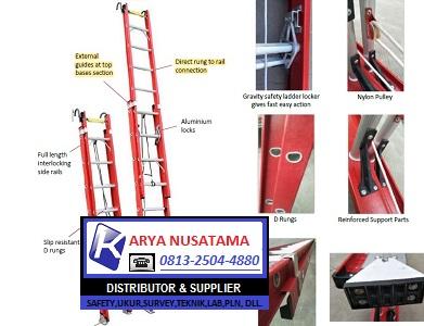 Jual Tangga Fiberglass Extension Ladder Forza