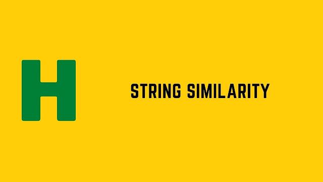 HackerRank String Similarity problem solution