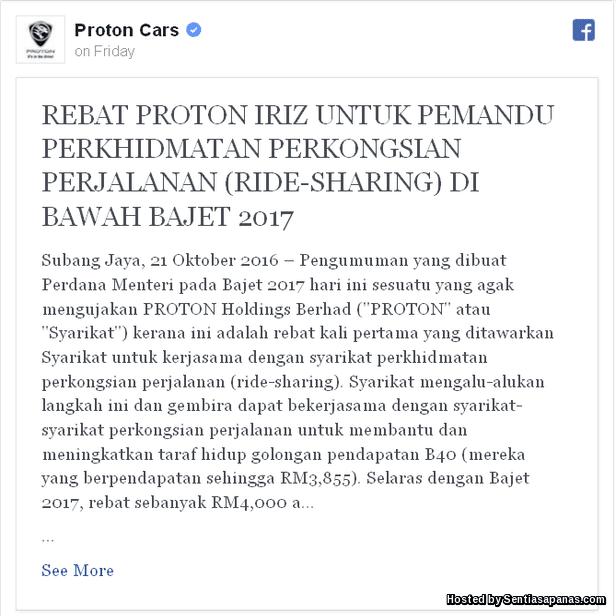 Rebat Proton Iriz