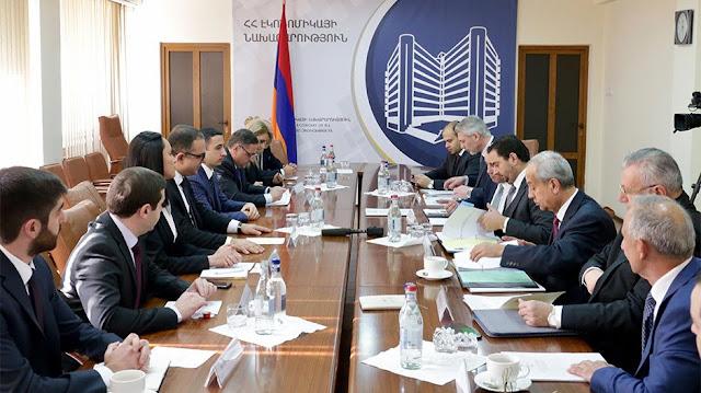 Armenia y Jordania ampliarán lazos comerciales