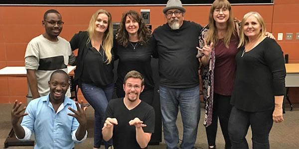 ASL Club members