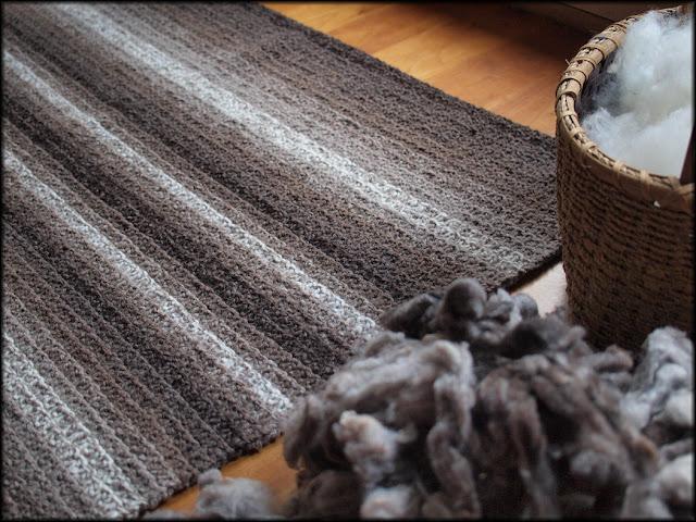 Rare Earth Rug by Moira Ravenscroft, Wyndlestraw Designs