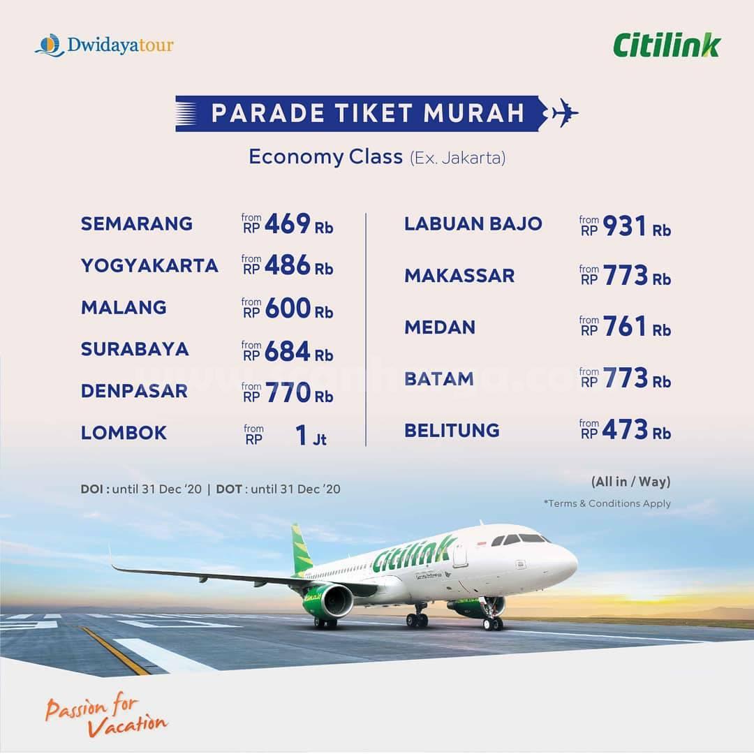 Garuda Indonesia Promo Parade Tiket Murah