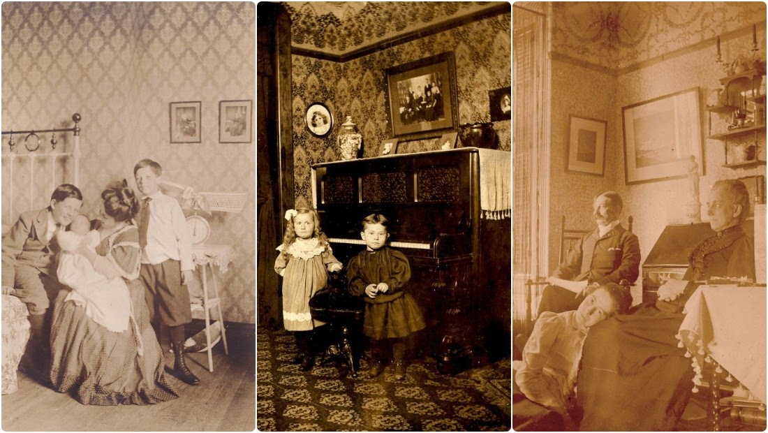 38 Amazing Photos Show How People Lived in Their Homes From the Late 19th Century