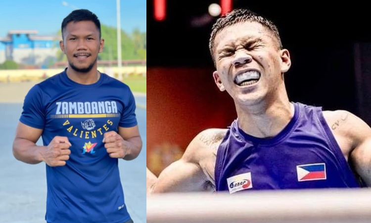 Filipino boxer and Olympic-hopeful Eumir Marcial