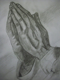 The Art of Kevin Diehl: Praying Hands
