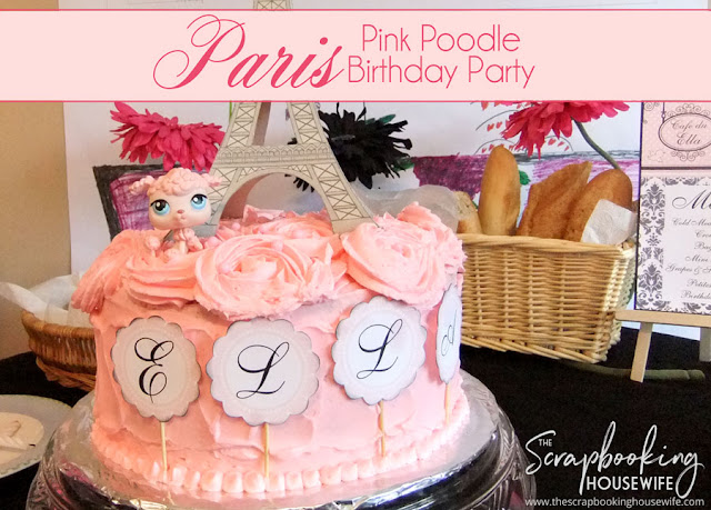 FRENCH PINK POODLE PARIS 8TH BIRTHDAY PARTY CELEBRATION