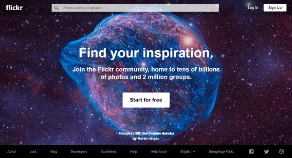 إليك طريقة استخدام موقع FLICKR للحصول على صور مجانية لمدونتك