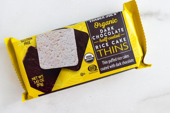 Trader Joe's Dark Chocolate Half-Coated Rice Cake Thins review