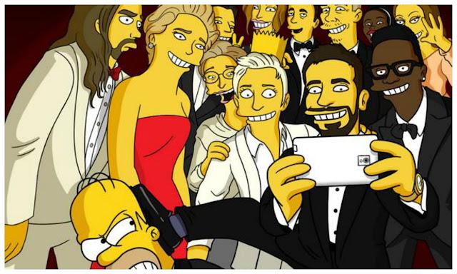 The Simpsons Selfie