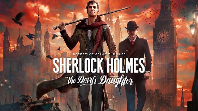 تحميل لعبة المحقق Sherlock Holmes The Devil's Daughter برابط مباشر