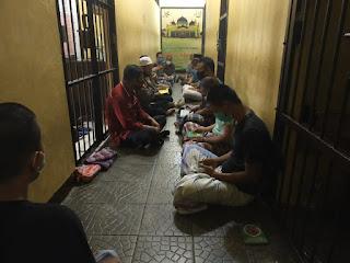 Tahanan Polres Pinrang Jalani Binrohtal