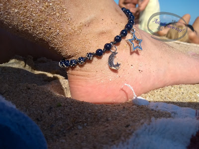 bransoletka na nogę krok po kroku