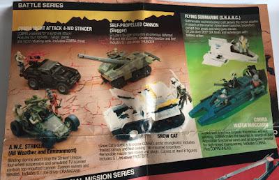 1985 Catalog, Tomax and Xamot, Zartan, Dreadnoks, Stormshadow, Flint, Lady, Snake Eyes, Shipwreck, Crimson Guard