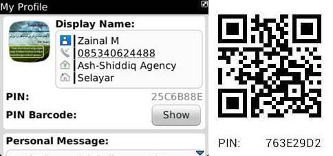 Pin BBM Zainal M | Ash-Shiddiq Agency Selayar