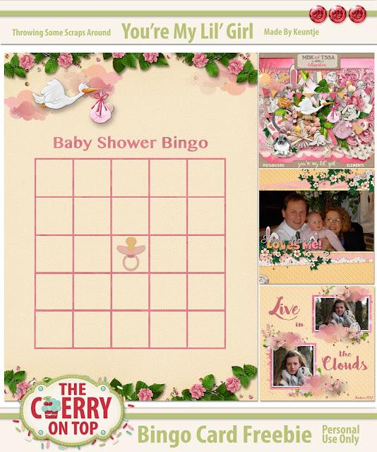 Free Baby Bingo Printable