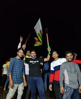 शासन के निर्देशों का पालन करते हुए मनाया विश्व आदिवासी दिवस