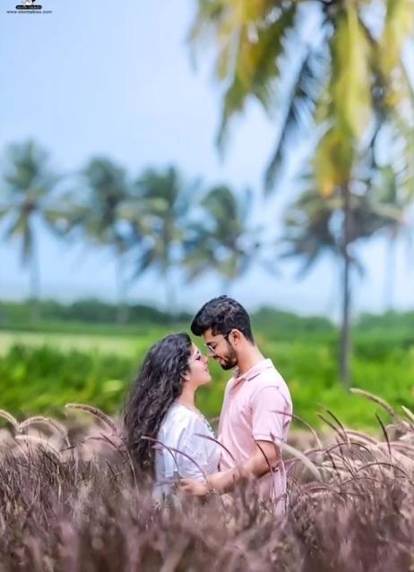 Unique Photoshoot Pose For Couples