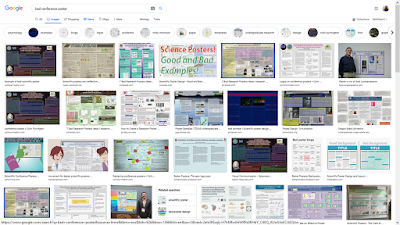 Google image results for bad conference poster