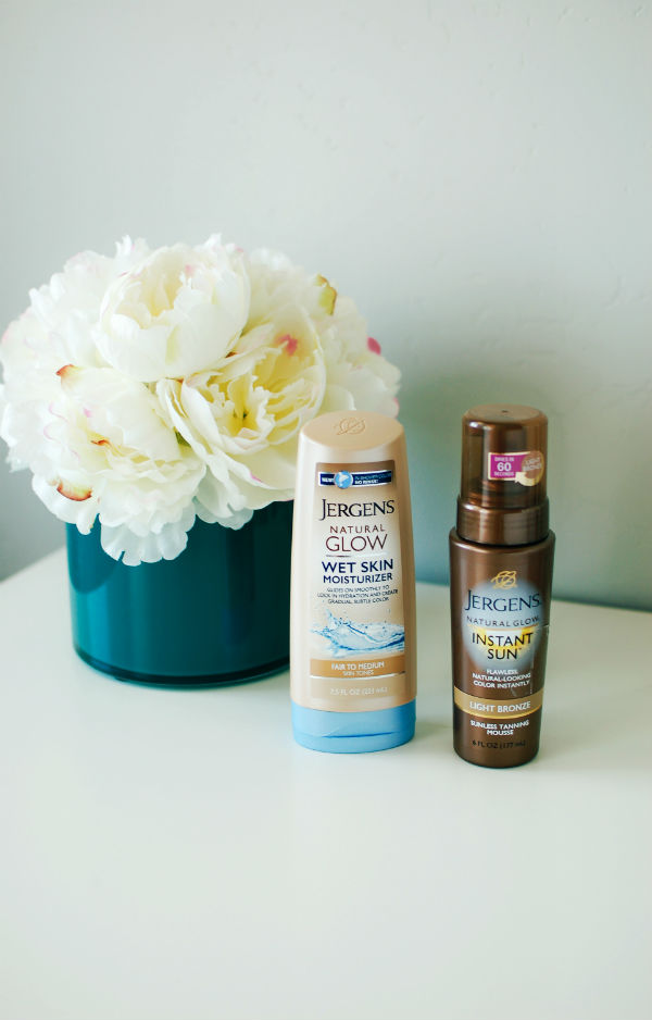 Jergens Sunless Tanner Products