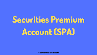securities premium account can be utilised for