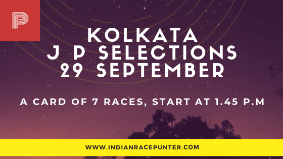 Kolkata Jackpot Selections 29 September