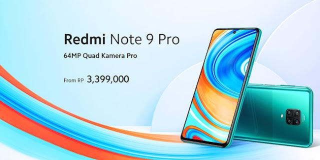 Spesifikasi lengkap Redmi Note 9 Pro