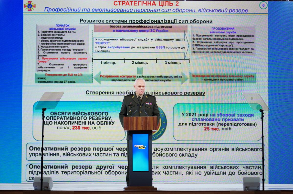 Хомчак розповів про перспективну модель ЗСУ