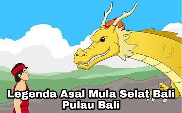 Kisah Asal Mula Selat Bali – Begawan Sidi Mantra dan Naga Besukih (Legenda Bali)