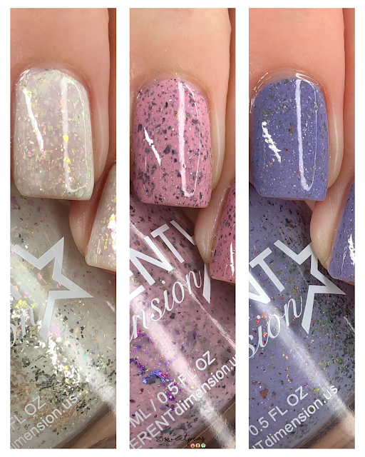Different Dimensions Polishes of the Month : May, June, July