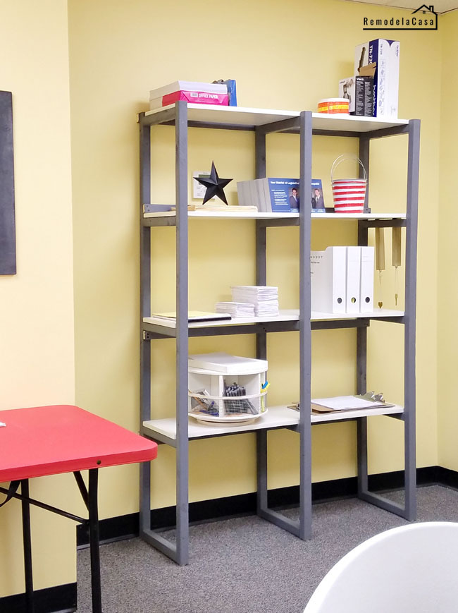 An easy and economical build for your office space