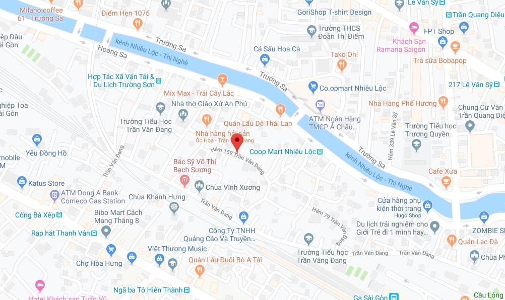 Bán nhà hẻm 159 Trần Văn Đang phường 11 Quận 3 giá rẻ 2019