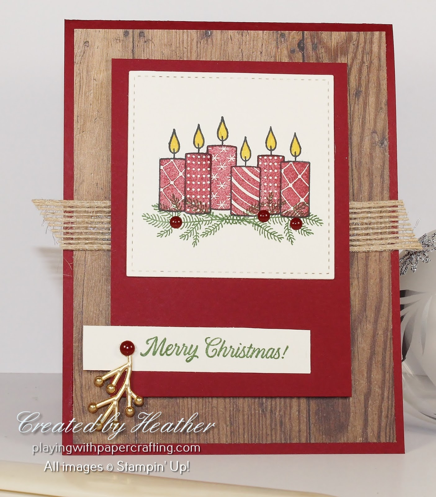 Square Rustic Die For Paper Crafting