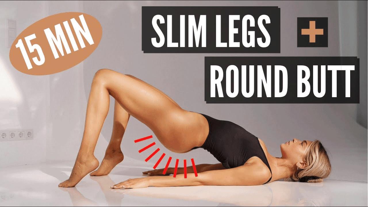 Jędrne pośladki i smukłe uda? Wypróbuj ten 15-minutowy trening wideo!