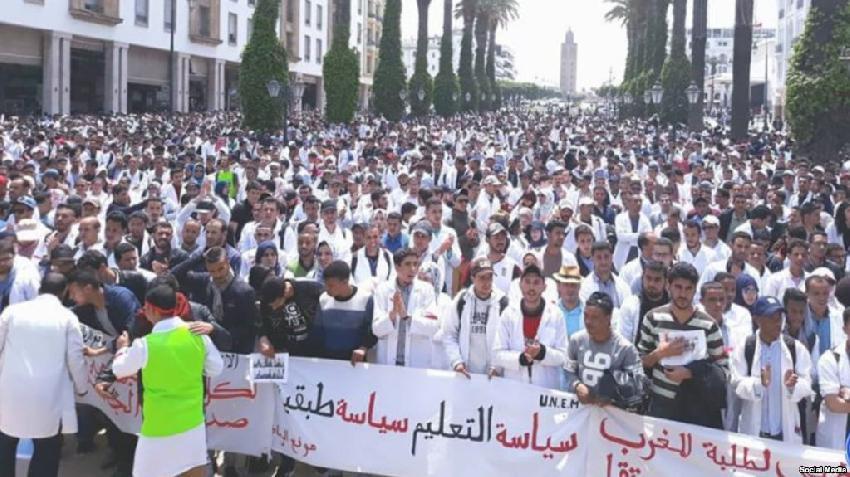 عاجل: تنسيقية التعاقد تدعو الى اضراب جديد مع مسك نقط المرحلة الثالثة