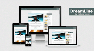 DreamLine Blogger Template