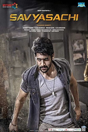 Savyasachi (2019) Full Hindi Dubbed Movie Download 480p 720p HDRip Free Watch Online Full Movie Download Worldfree4u 9xmovies