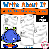 Write About It Worksheets