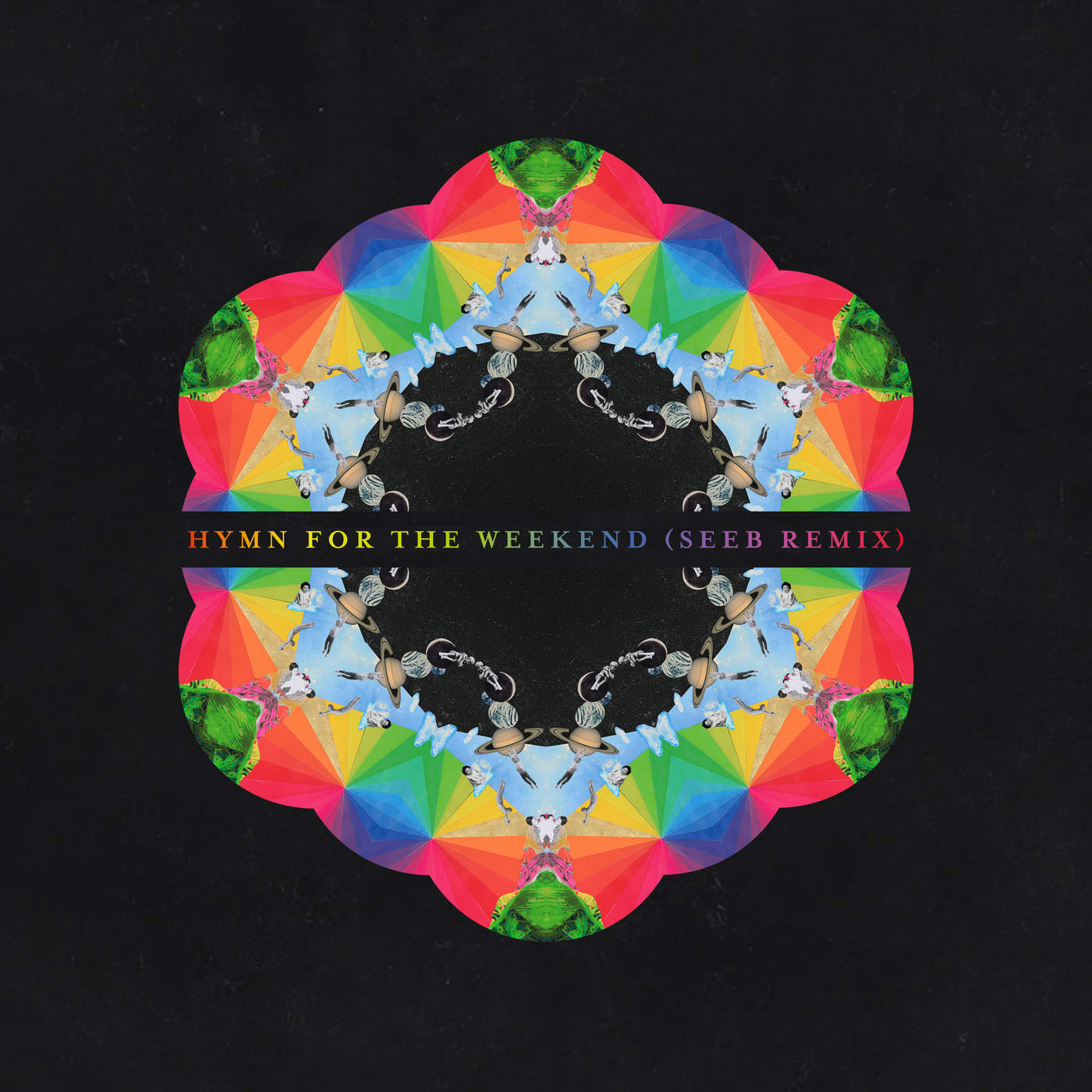 Coldplay - Hymn for the Weekend (SeeB Remix) - Single Cover